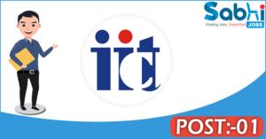 IICT recruitment 2018 notification Apply 01 Junior Research Fellow
