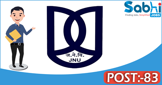 JNU recruitment 83 Associate Professor, Assistant Professor