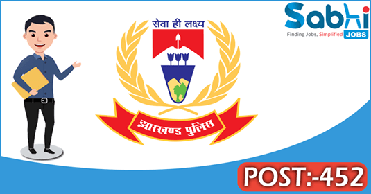 Jharkhand Police recruitment 452 Home Guard