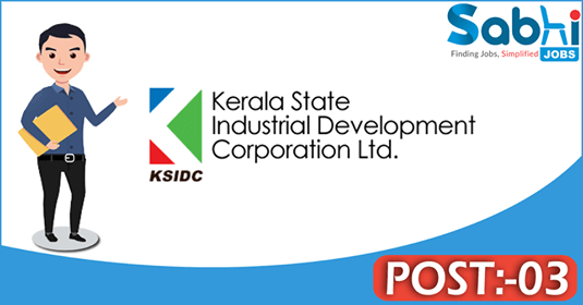 KSIDC recruitment 03 Assistant Manager