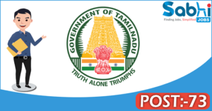 MRB Tamil Nadu recruitment 2018 notification 73 Assistant Medical Officer/ Lecturer