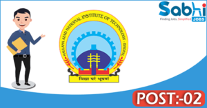 MANIT recruitment 2018 notification 02 Medical Officer, Security Officer