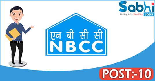 NBCC recruitment 10 Management Trainee