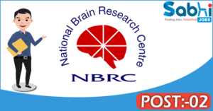 NBRC recruitment 2018 notification Apply for 02 Research Associate