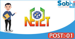 NEIST recruitment 2018 notification Apply for 01 Project Worker