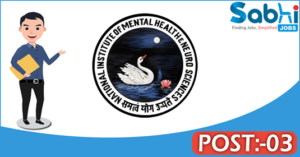 NIMHANS recruitment 2018 notification 03 Technical Assistant, Psychologist