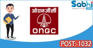 ONGC recruitment 2018 notification Apply online 1032 Chemist, Transport Officer
