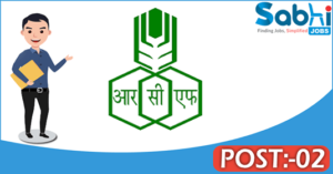 RCFL recruitment 2018 notification Apply for 02 Manager, Sr. Officer