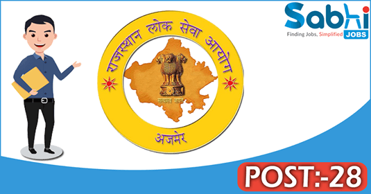 RPSC recruitment 28 Physiotherapist