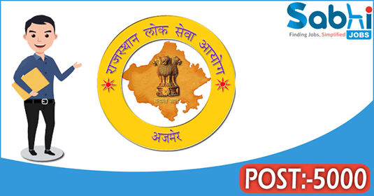 RPSC recruitment 5000 School Lecturer