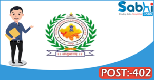 RSMSSB recruitment 2018 notification Apply 402 Junior Instructor
