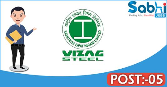 Vizag Steel recruitment 05 Medical Professionals