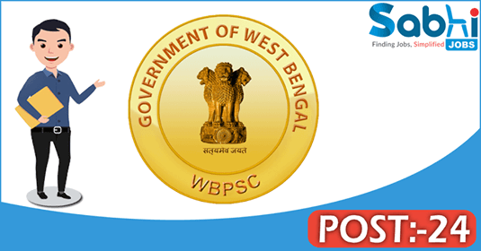 WBPSC recruitment 24 Civil Judge