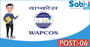 WAPCOS recruitment 2018 notification 06 Junior Assistant, Engineer