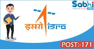 ISRO recruitment 2018 notification 171 Junior Personal Assistants, Stenographers