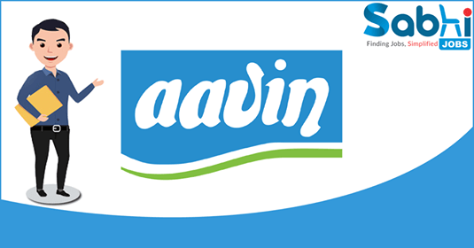 AAVIN Milk recruitment Marketing Executive