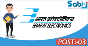 BEL recruitment 2018 notification Apply 03 Manager, Sr. Assistant Engineer