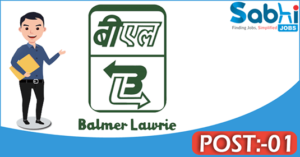 Balmer Lawrie recruitment 2018 notification Apply for 01 Junior Officer