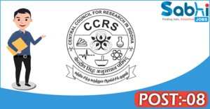 CCRS recruitment 2018 apply for 08 Research Associate, Consultant