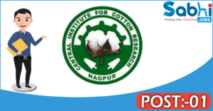 CICR recruitment 2018 notification Apply for 01 Young Professional