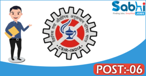 CIMFR recruitment 2018 notification Apply 06 Project Assistant