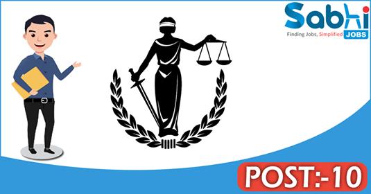 Chhattisgarh High Court recruitment 10 District Judge