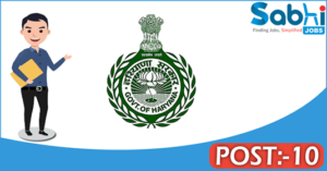 Government of Haryana recruitment 2018 notification Apply for 10 Steno Typist