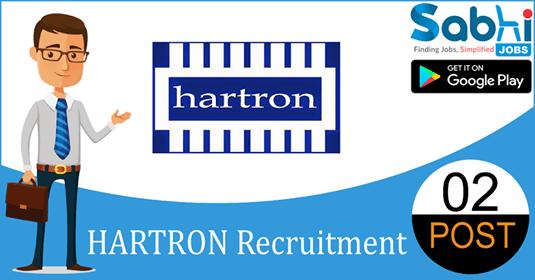 HARTRON recruitment 02 Supervisors