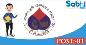IARI recruitment 2018 notification Apply Application for 01 SRF