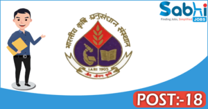 IARI recruitment 2018 notification Apply for 18 Young Professional