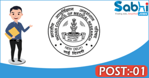 ICMR recruitment 2018 notification Apply application for 01 Scientist