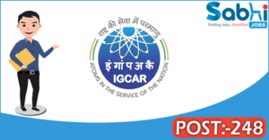 IGCAR recruitment 2018 notification Apply for 248 Technical Officer, Upper Division Clerk