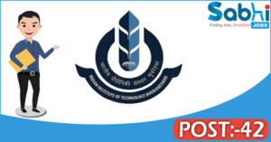 IIT Bhubaneswar recruitment 2018 notification apply for 42 Registrar, Driver