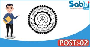 IIT Delhi recruitment 2018 notification Apply 02 Sr. Project Assistant