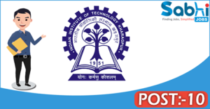 IIT Kharagpur recruitment 2018 notification Apply for 10 Senior Project Officer/Project Officer