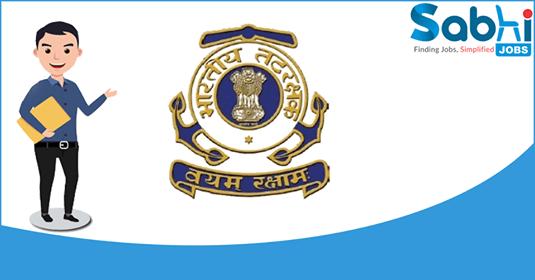 Indian Coast Guard recruitment Assistant Commandant