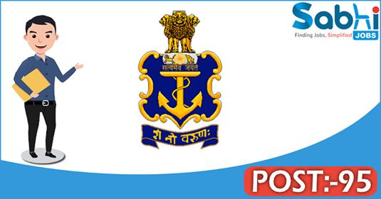 Indian Navy recruitment 95 Fireman