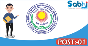 JIPMER recruitment 2018 notification Apply for 01 Project Assistant
