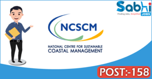 NCSCM recruitment 2018 notification Apply for 158 Project Associate, Multi-Tasking Staff