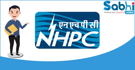 NHPC recruitment Industrial Trainees