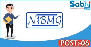 NIBMG recruitment 2018 notification apply online 06 Experimental Laboratory Manager, Technical Specialist, Data Analyst