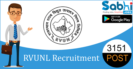 RVUNL recruitment 3151 Assistant Personal Officer