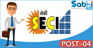 SECI recruitment 2018-19 notification Apply online for 04 Manager & Officer