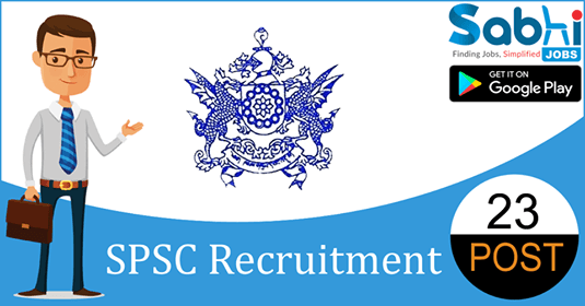 SPSC recruitment 23 Agriculture Development Officer