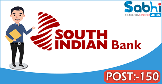 South Indian Bank recruitment 150 Probationary Officer