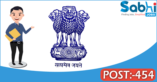 UPSC recruitment 454 Combined Medical Service Examination 2018