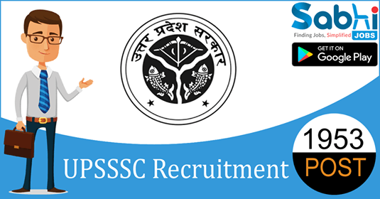 UPSSSC recruitment 1953 Gram Panchayat Adhikari