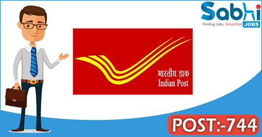 Uttarakhand Postal Circle recruitment 744 Gramin Dak Sevak