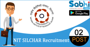 NIT Silchar recruitment 2018-19 notification apply for 02 Yoga Instructor