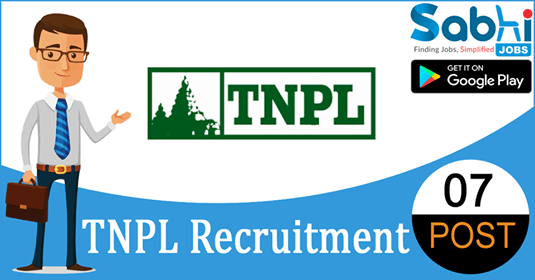 TNPL recruitment 07 Chief General Manager, Assistant General Manager